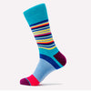 Differ 1989 Funky Socks, Blue, made of cotton. Can be worn with formal and business-casual outfits