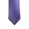 A solid lilac tie from Knotz that is best worn with lighter shaded dress shirts. Great for businesswear and wedding suits.