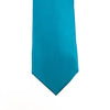 A solid turquoise tie from Knotz, best paired with a white dress shirt and a navy blazer. Great for wedding looks, too.