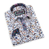 This eccentric Franco Negretti sport shirt is a funky piece for stylish men and bird-lovers, alike!