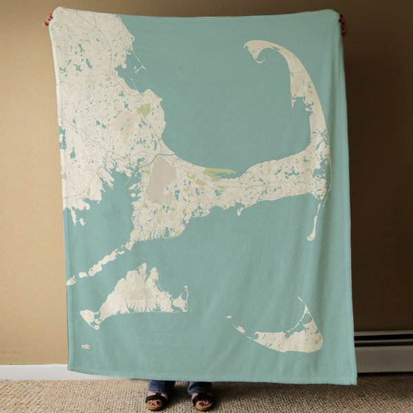 Cape and the Island Map Blanket