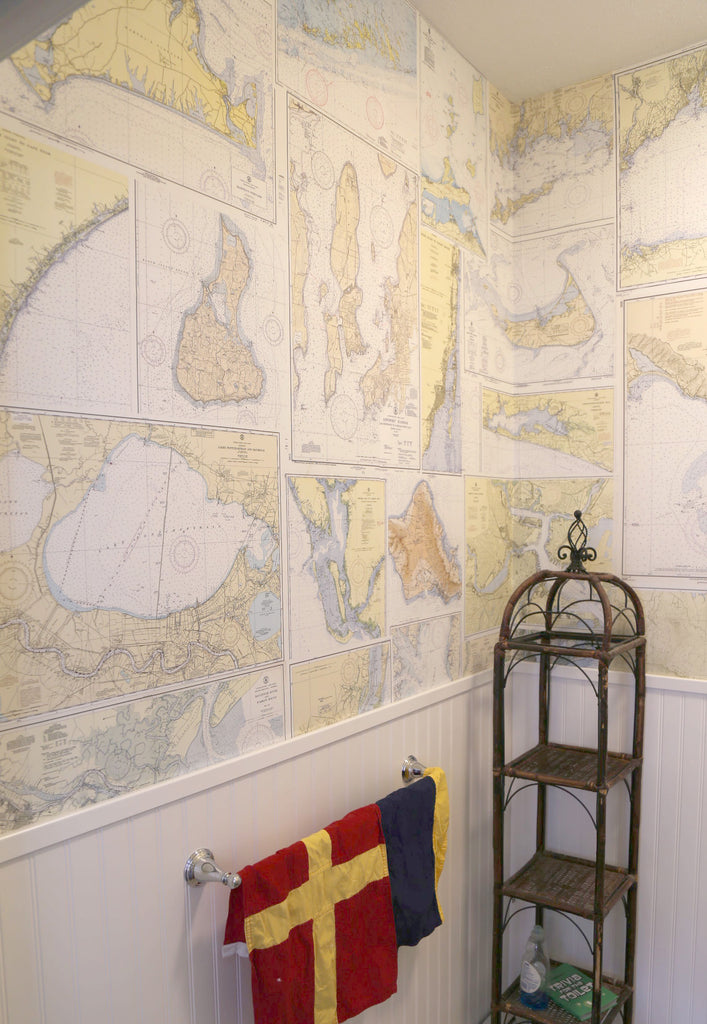 Nautical Chart Wall Paper at Mapisart WHQ