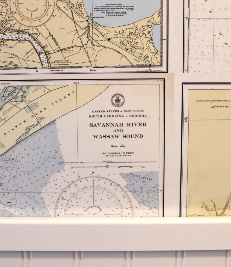 Nautical Chart Wallpaper At Mapisart World Headquarters