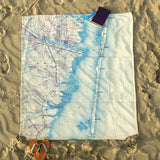 Lavalette Antique Map Blanket