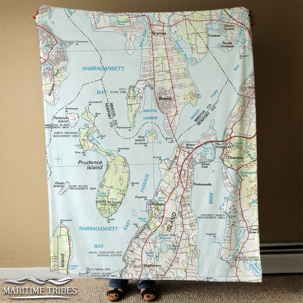 Bristol Map Blanket