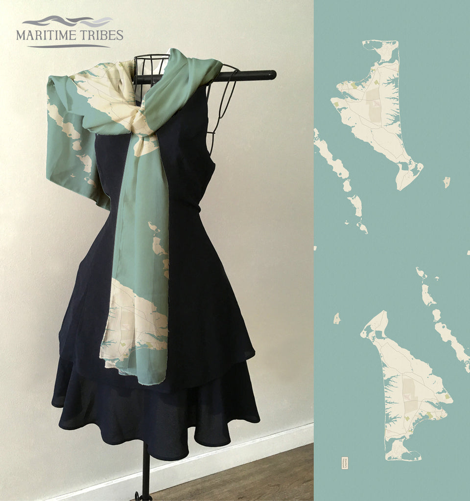 Martha's VIneyard Sea Glass Scarf