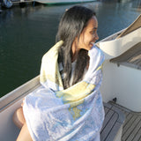 Sanibel to Boca Chart Blanket