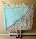 Port Colborne, Lake Erie, Canada Blanket