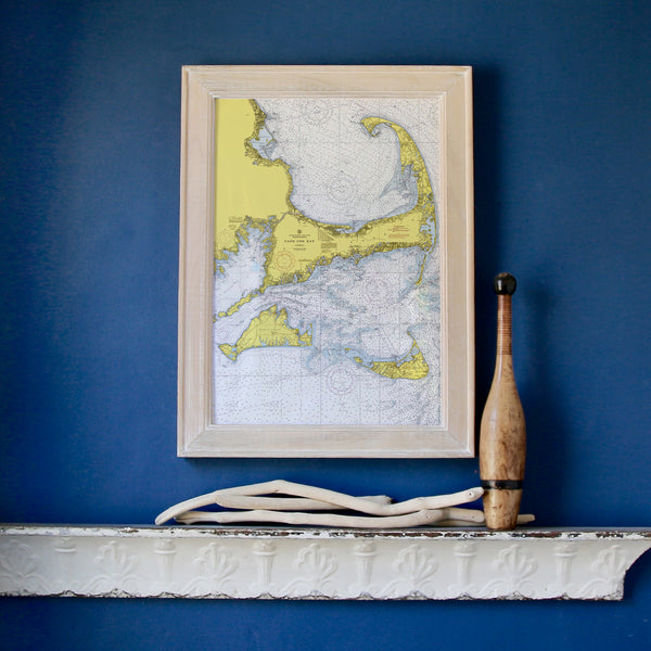Cape Cod & The Islands Framed Map