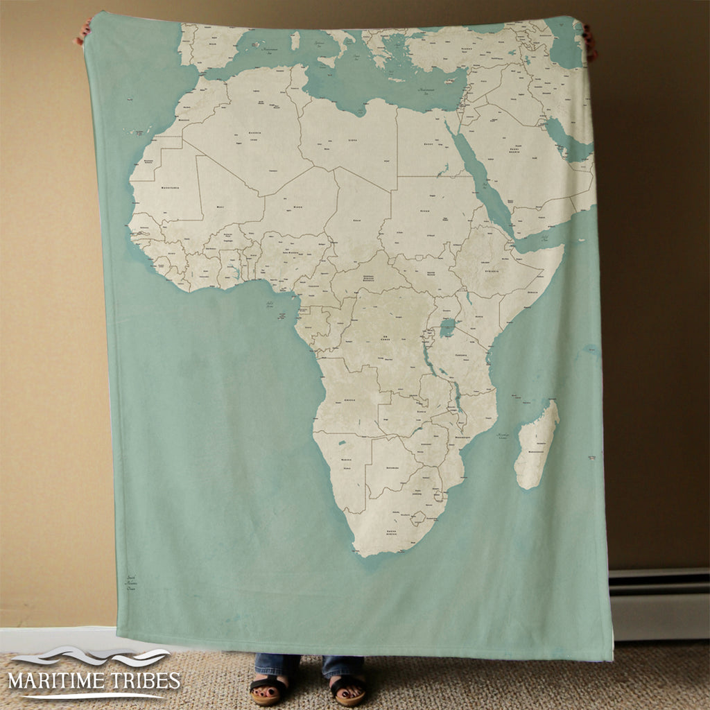 Africa Seaglass Blanket