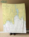 Niantic, CT Chart Blanket