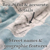 Personalized Map Blanket