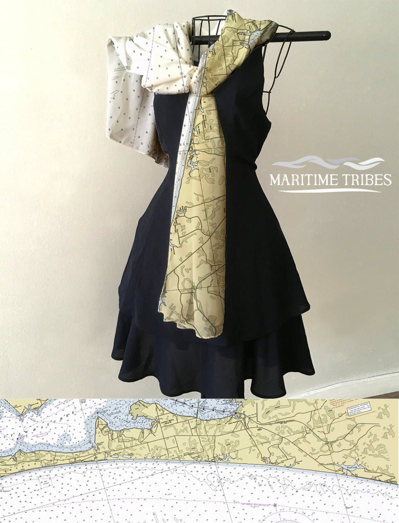 Seaside, FL Nautical Chart. Scarf