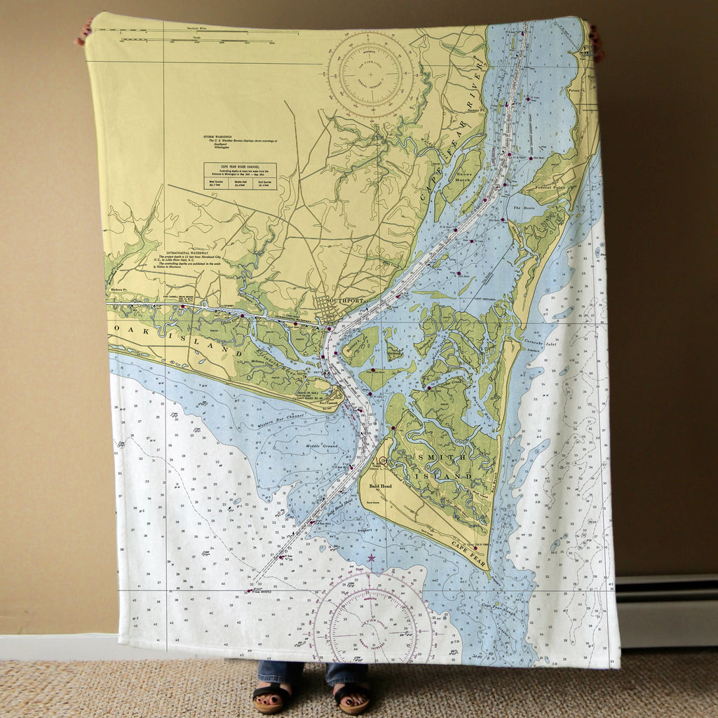 Bald Head Island to Wilmington Blanket Blanket