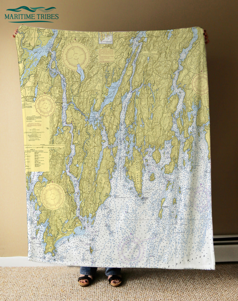Bath to Pemaquid Blanket