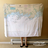 North Shore Of Long Island Blanket