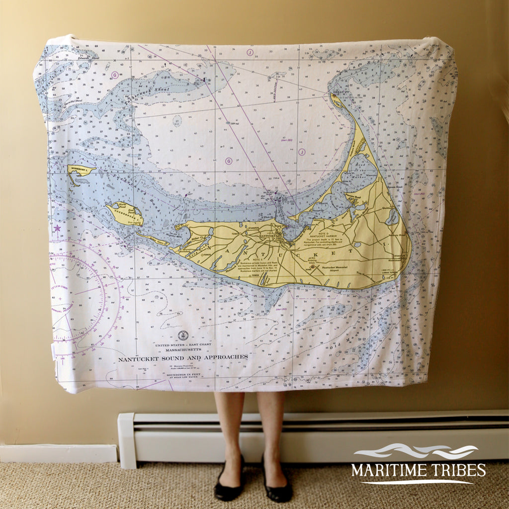Nantucket Chart Blanket