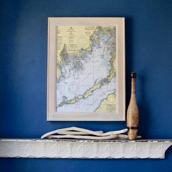 Buzzards Bay Framed Map