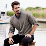Men's Cotton Cashmere Sweater