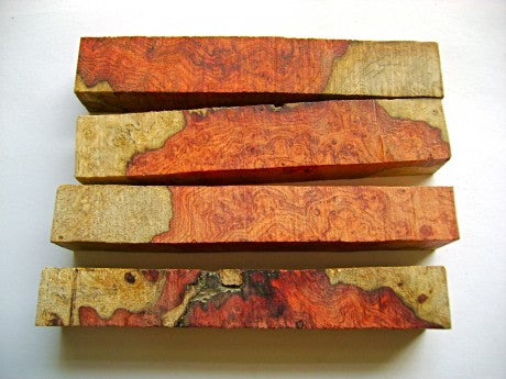 two toned amboyna burl