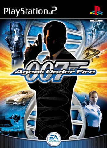James Bond 007 in Agent Under Fire (Sony PlayStation 2, 2002) Black Label