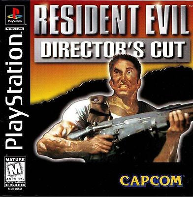 Resident Evil Director's Cut (PlayStation, 1998)