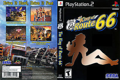 King of Route 66  (Sony PlayStation 2, 2003) Complete