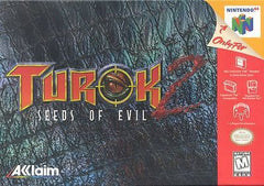 Turok 2: Seeds of Evil (Nintendo 64, 1998) - Games Found Here  - 1