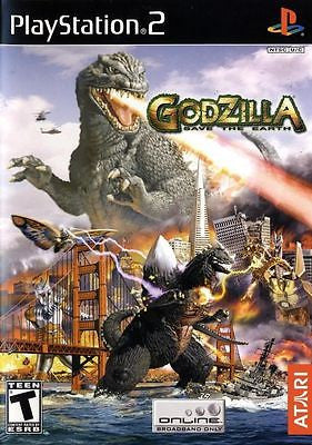 Godzilla: Save the Earth (Sony PlayStation 2, 2004) Complete