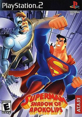 Superman: Shadow of Apokolips (Sony PlayStation 2, 2002) Complete