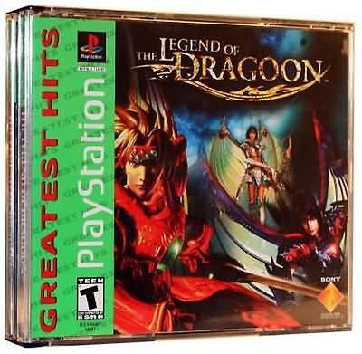 Legend of Dragoon  [Greatest Hits] (Sony PlayStation 1, 2000)