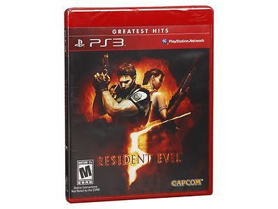 Resident Evil 5 [Greatest Hits] (Sony Playstation 3, 2009)