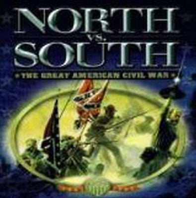 North vs. South  (PC, 1999) Big Box Complete in Box