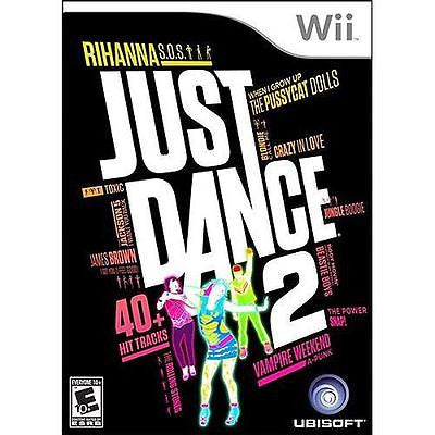 Just Dance 2  (Nintendo Wii, 2010) Complete