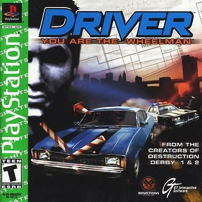 Driver [Greatest Hits] (Sony PlayStation 1, 1999) Complete