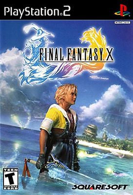 Final Fantasy X (Sony PlayStation 2, 2001) [Black Label] Complete