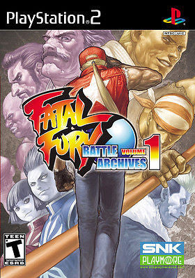 Fatal Fury: Battle Archives, Vol. 1 (Sony PlayStation 2, PS2, 2007) Complete