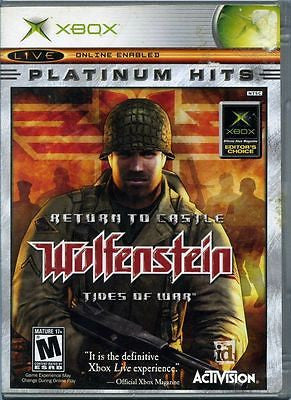 Return to Castle Wolfenstein: Tides of War  (Microsoft Xbox, 2003)