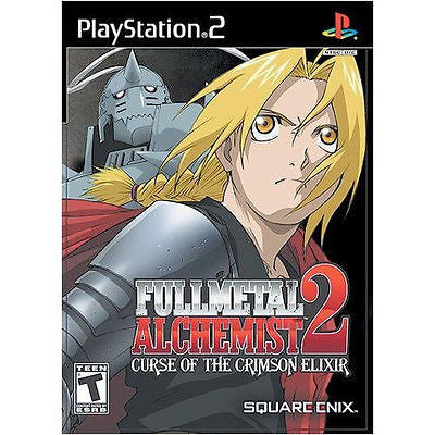 Fullmetal Alchemist 2: Curse of the Crimson Elixir (Sony PlayStation 2, 2005) #2