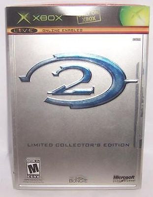 Halo 2: Limited Collector's Edition  (Microsoft Xbox, 2004) Complete With Slip Cover