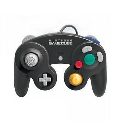 Nintendo Gamecube Black Wired Gamepad Controller DOL-003 M05819BK
