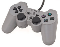 Official Sony Playstation 1 Grey Controller Gamepad PS1 Dual Shock (SCPH-1200) - Games Found Here  - 1