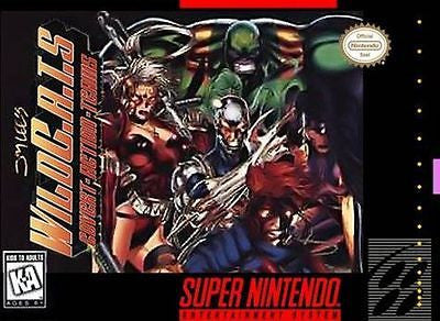Jim Lee's Wild C.A.T.S: Covert Action Teams  (Super Nintendo, 1995)