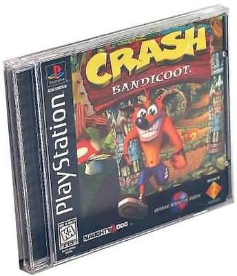 Crash Bandicoot (Sony PlayStation 1, 1996) Complete Black Label