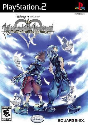 Kingdom Hearts RE: Chain of Memories (Sony PlayStation 2, 2008) Complete