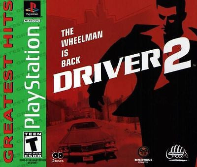 Driver 2 [Greatest Hits] (Sony PlayStation 1, 2000) Complete