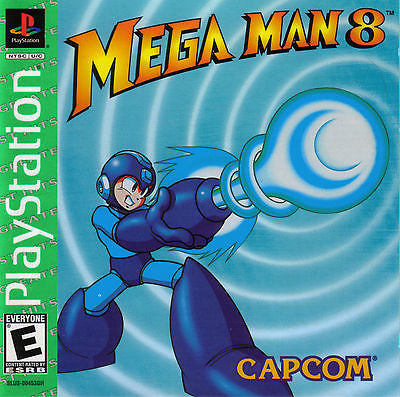 Mega Man 8 [Greatest Hits] (Sony PlayStation 1,1997)