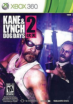 Kane & Lynch 2: Dog Days (Xbox 360, 2010) Complete