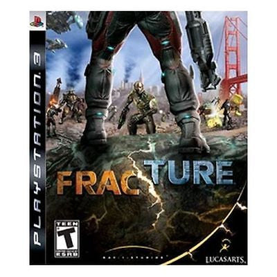 Fracture (Sony Playstation 3, 2008) Complete