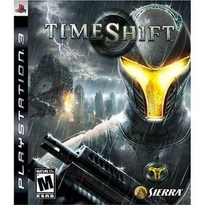 Timeshift (Sony Playstation 3, 2007) Complete